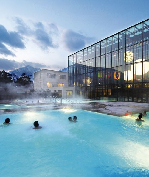 Die Therme – ein Paradies in Meran